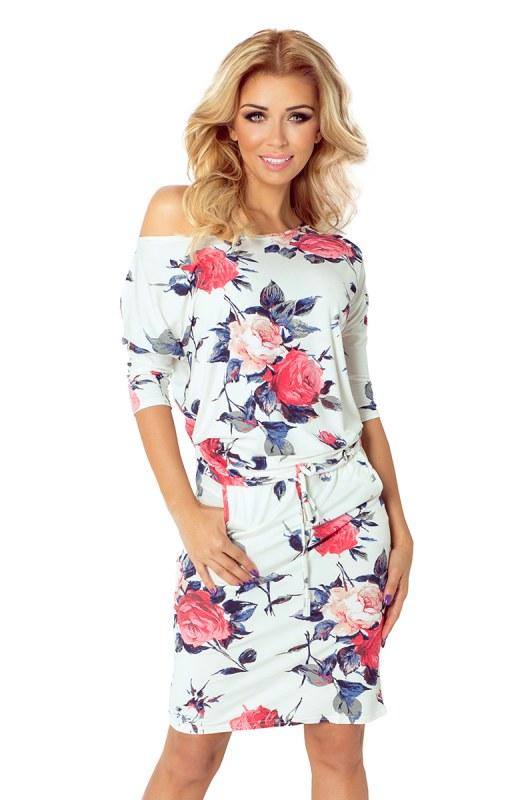 2d85761ae23f Sportovní květované šaty 13-49 - Dámské šaty • Ženy