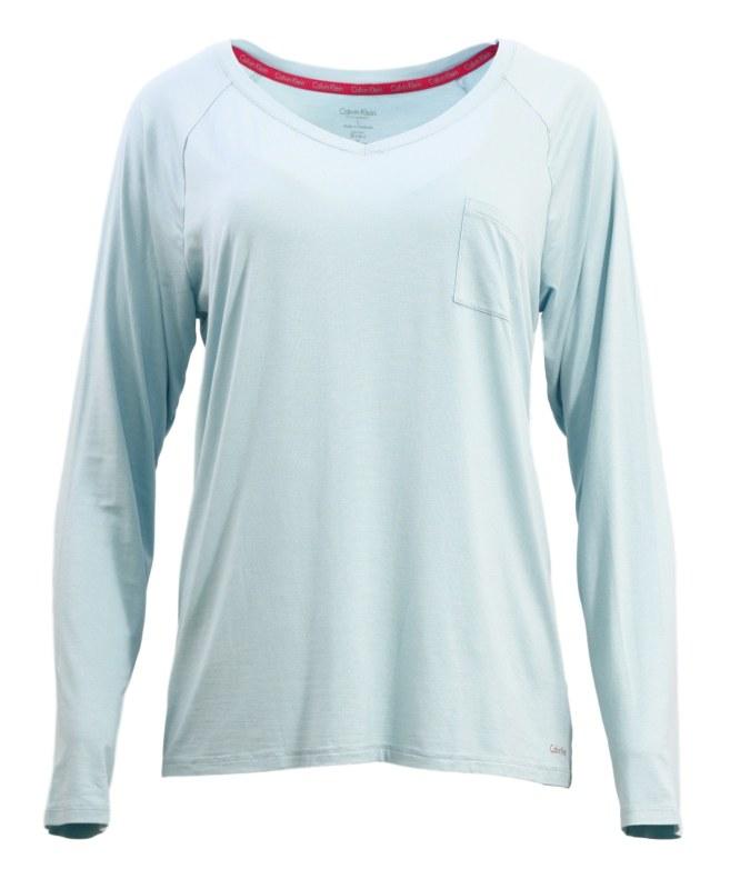a06593d02 Dámské tričko na spaní QS5322E - Calvin Klein - Dámské trika • Ženy
