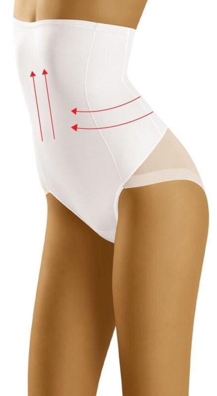 Zeštíhlující a modelující kalhotky Suprima bílé. Zeštíhlující a modelující  kalhotky Suprima bílé - Dámské spodní prádlo stahovací d4d8727002
